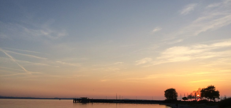 Sonnenuntergang Bodensee